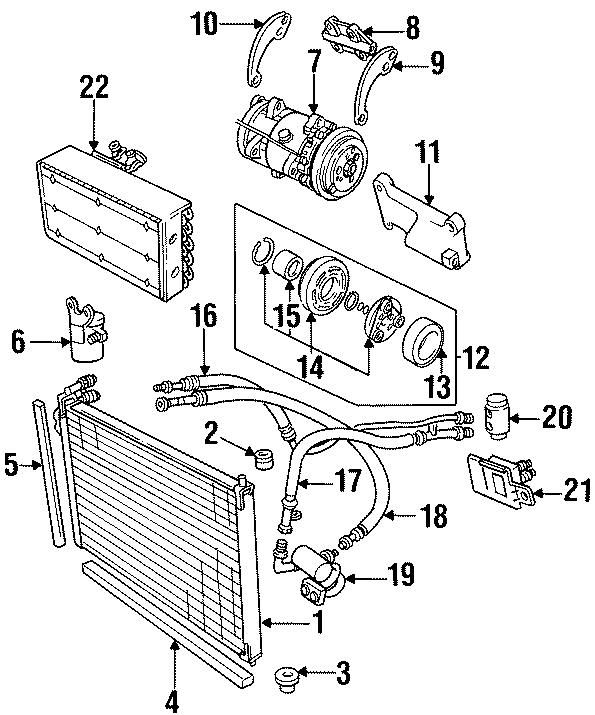 jaguar xj6 heater parts diagram html