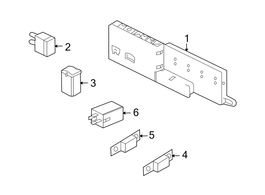 jaguar xjr circuit breaker  fuse  amp  trunk  box