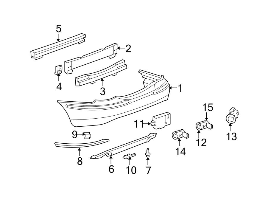 jaguar x type parking aid sensor bracket reverse sensing. Black Bedroom Furniture Sets. Home Design Ideas