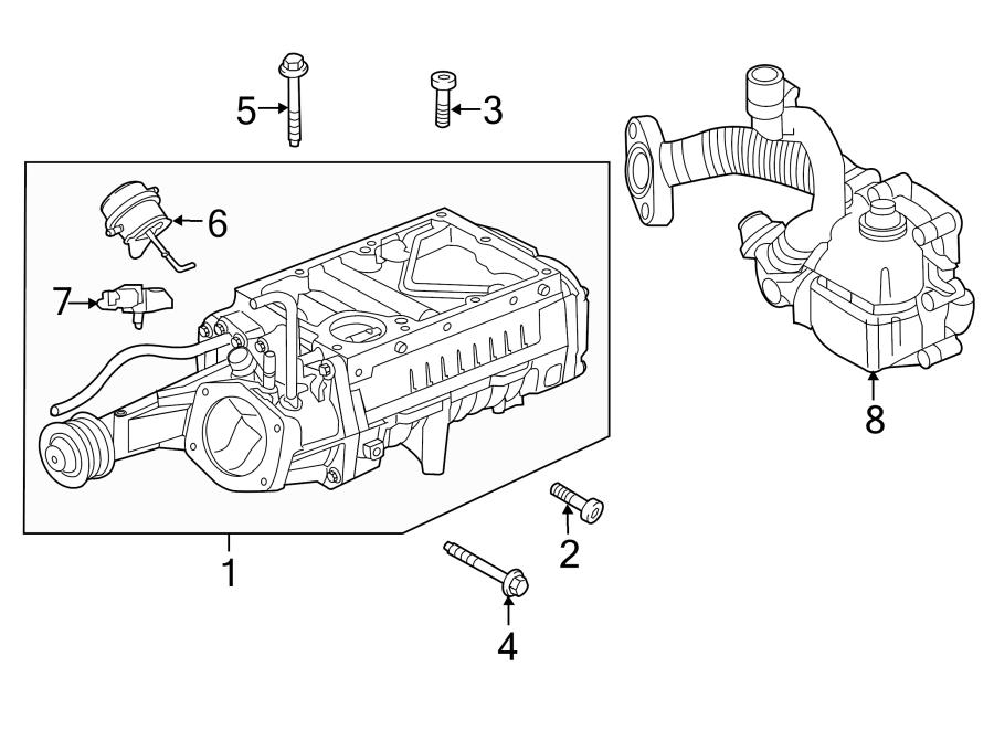 jaguar xfr-s actuator  valve  c actuat  included with