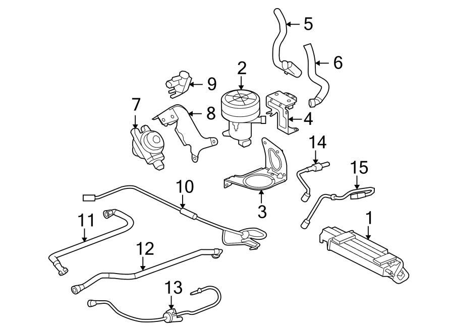 2008 jaguar xj8 diverter valve  secondary air injection