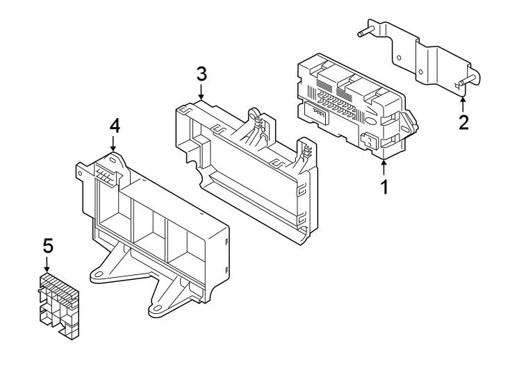 jaguar xf fuse box bracket junction block bracket. Black Bedroom Furniture Sets. Home Design Ideas