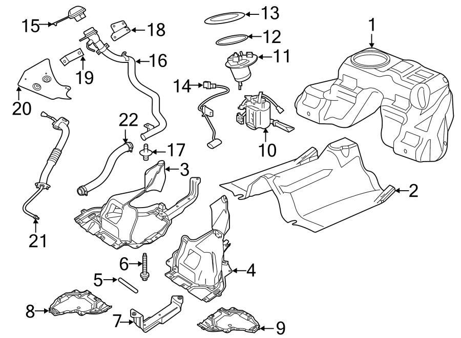 jaguar xf filler cap  fuel tank cap  system  components