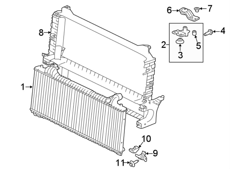 Jaguar Xe Radiator  Radiator  Cooling  Gas  System