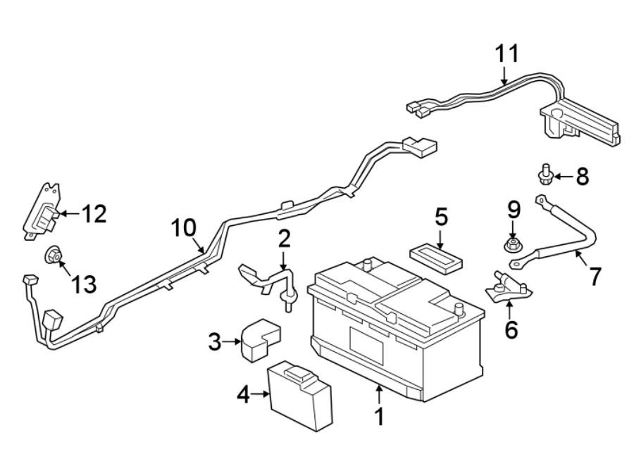 jaguar xe battery insulator  battery pad  block - foam  vent tube insulator   1
