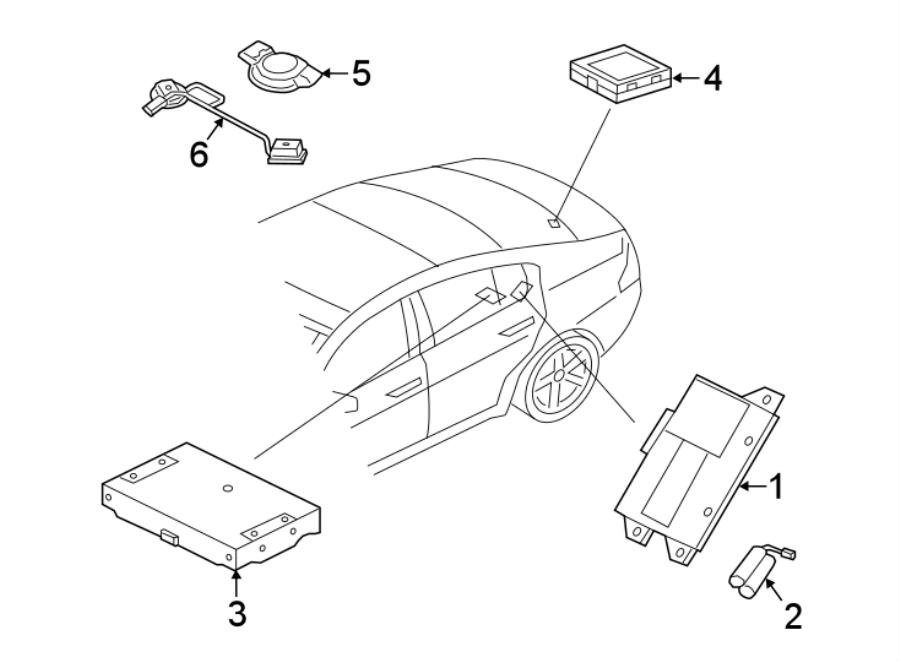 Jaguar Xe Mobile Phone Control Module  Telematics