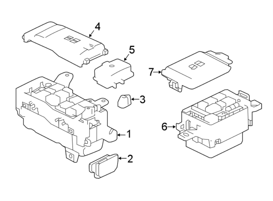 Jaguar Xe Fuse Box  Junction Block  Panel  A Component That Houses Fuses  Engine Bay