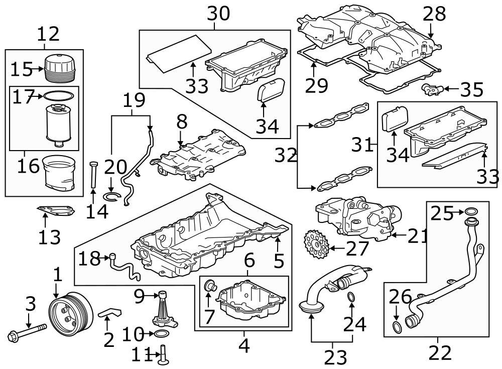 Jaguar Xj Drive Gear Engine Oil Pump Drive Gear Engine