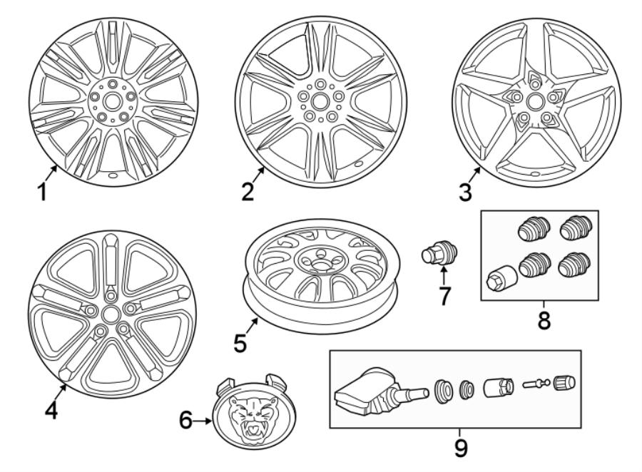 Jaguar Xe Wheel  May  Front  Notice