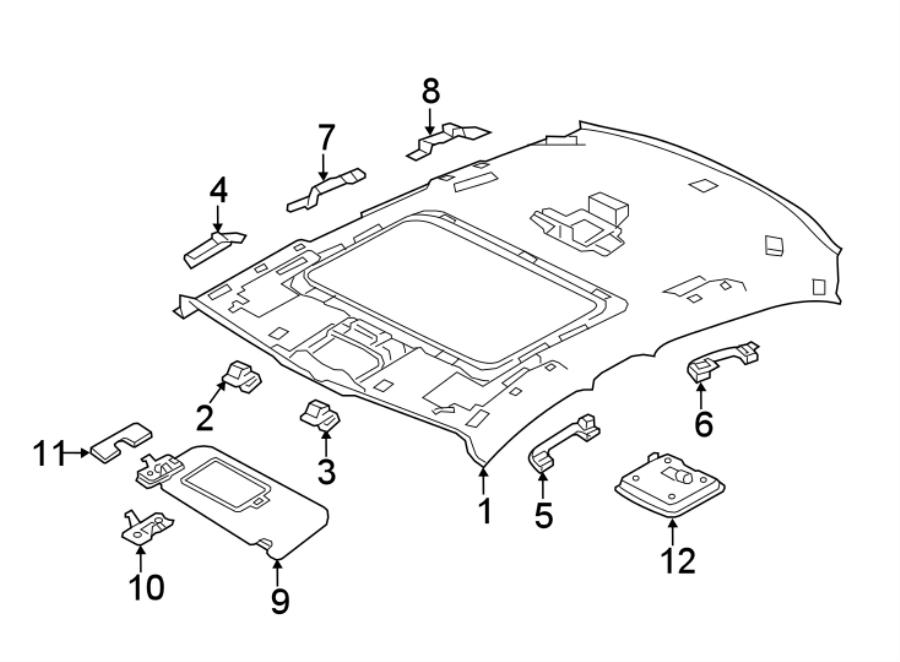 Jaguar Xe Interior Grab Bar  Rear To Vin 950859  Black  Handle  Partqualifier  Grip