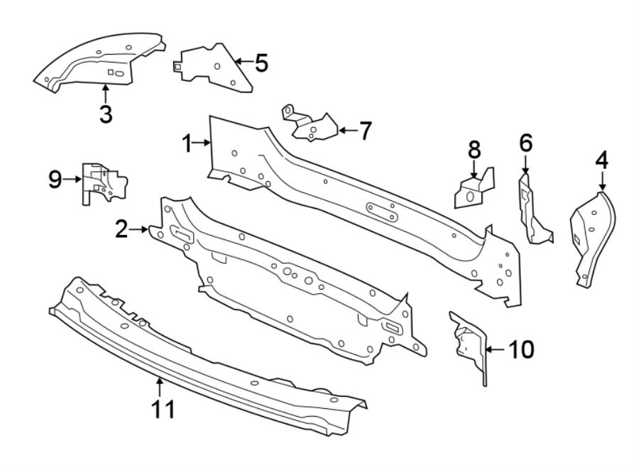 Jaguar Xe Rear Body Panel  Rear