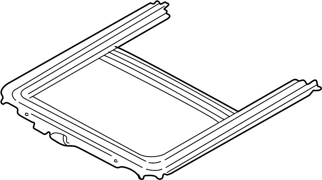jaguar xjr frame  sunroof frame  body