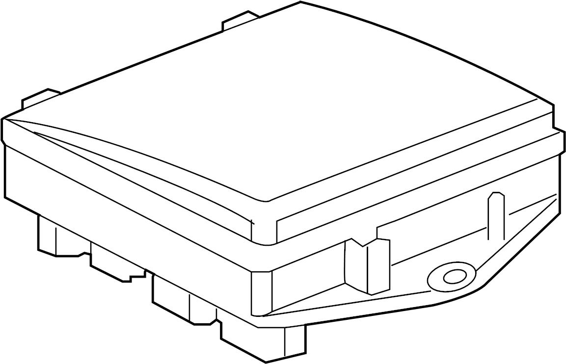 jaguar super v8 fuse and relay center trunk mounted box. Black Bedroom Furniture Sets. Home Design Ideas