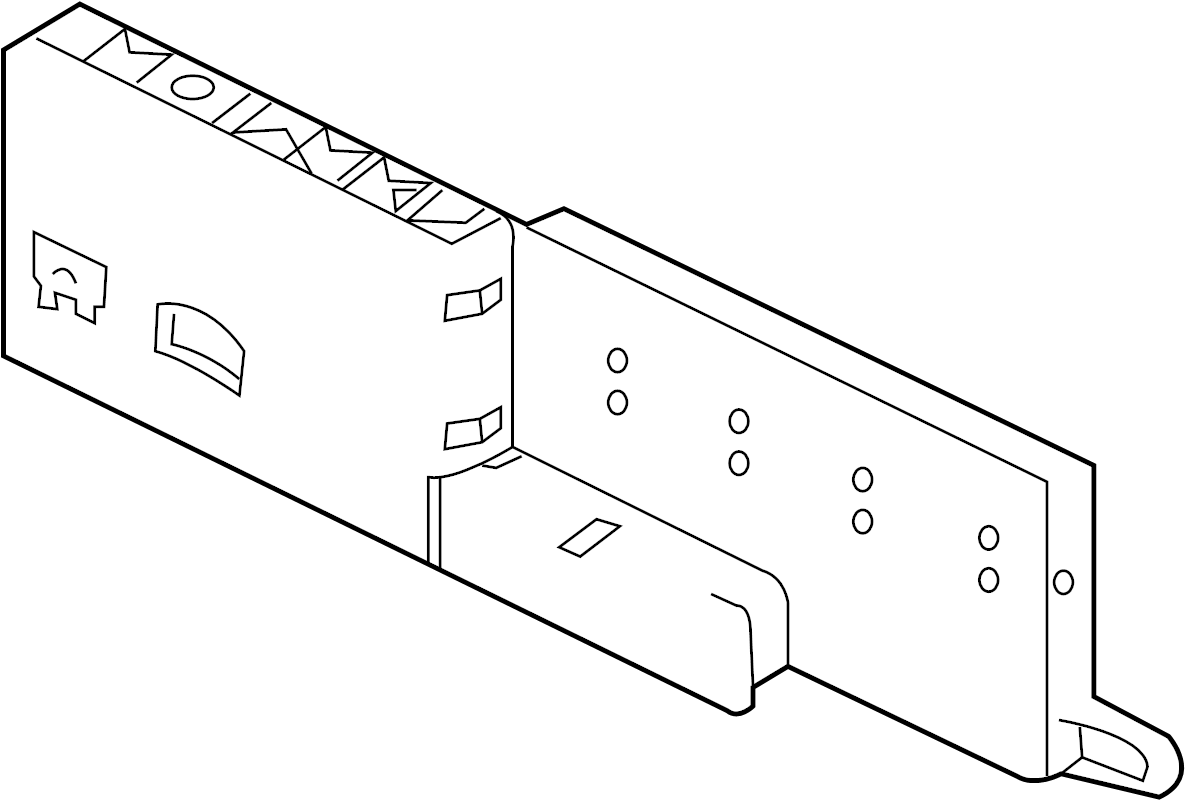 2012 jaguar xj fuse  u0026 relay box  fusebox  engine