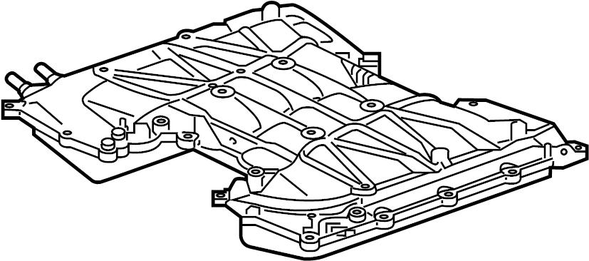 jaguar f-type intake manifold  manifold
