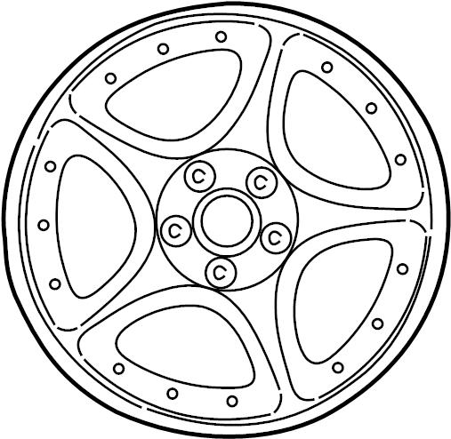 jaguar xk8 wheel - road