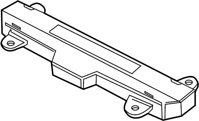 jaguar xk8 module - control  interior light sensor  w  o glass break sns