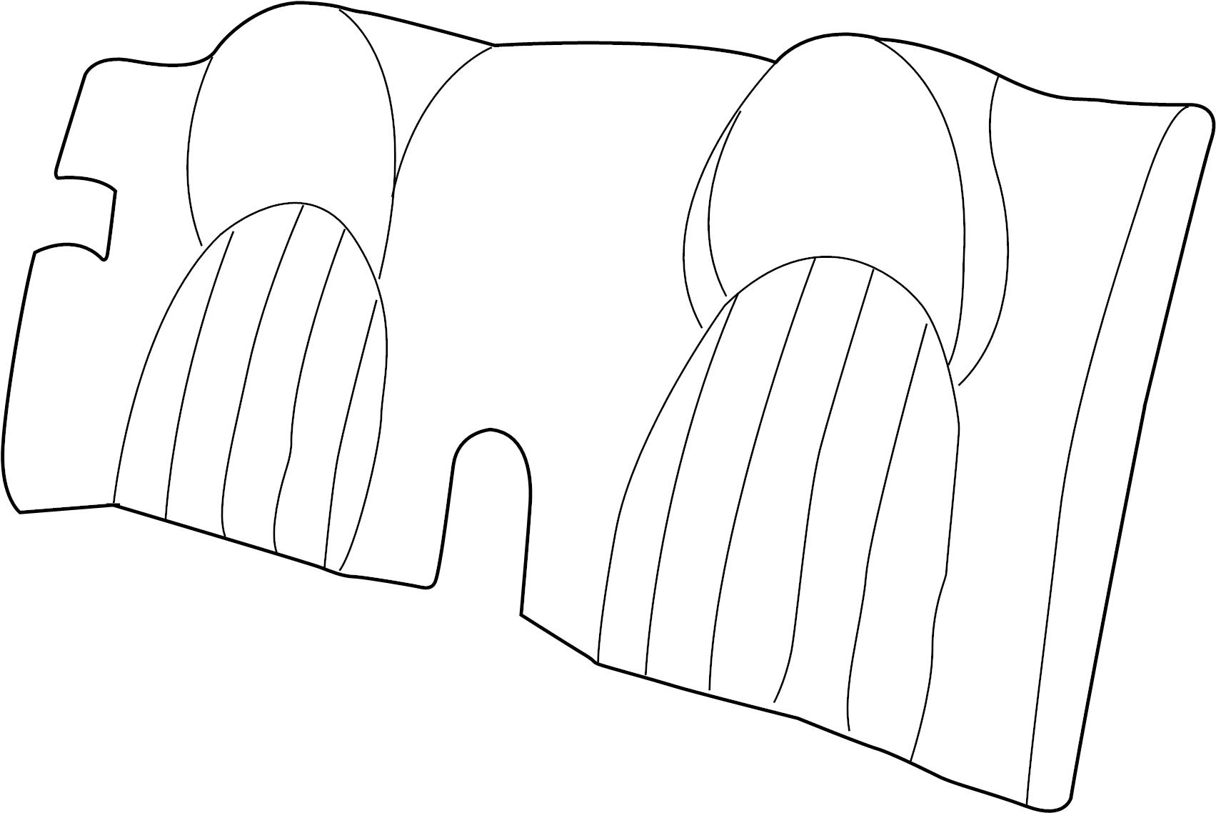 jaguar xk8 seat back assembly  convertible  classic seat  cashmere
