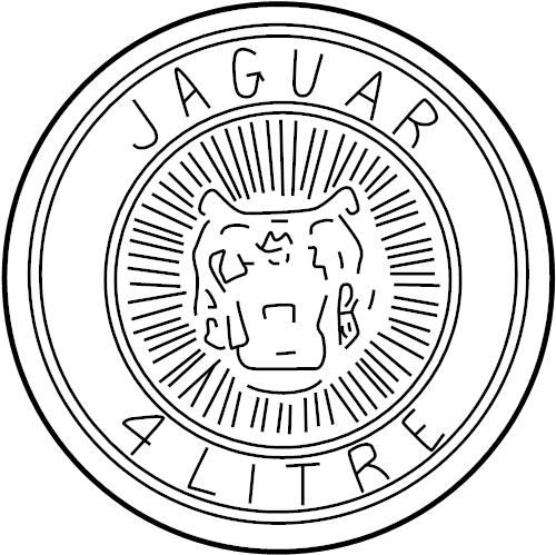 jaguar xkr badge supercharger
