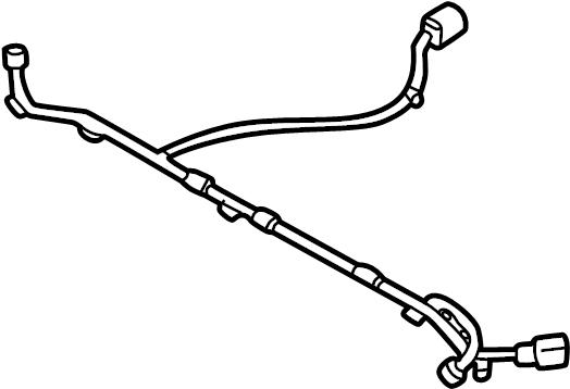 Jaguar S-type Fuel Pump Wiring Harness  Wire