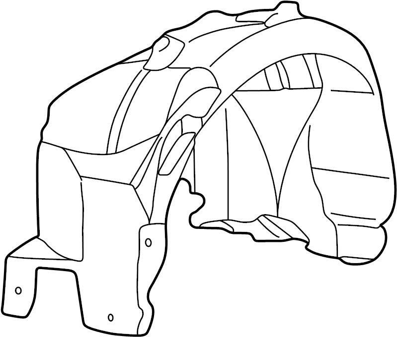 jaguar s-type fender liner  liner-wheelarch