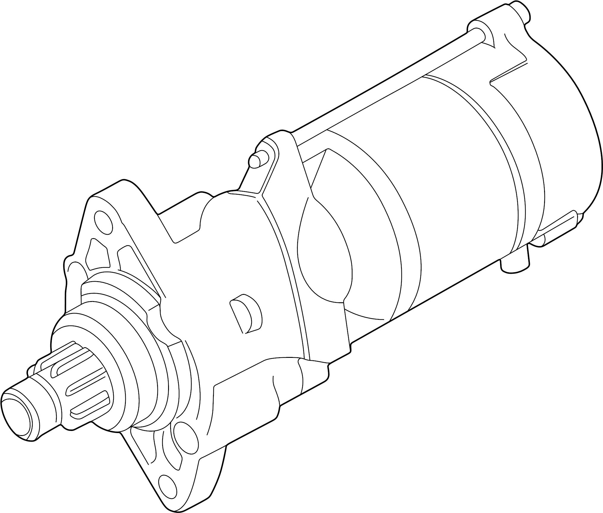 jaguar xj8 starter motor  liter