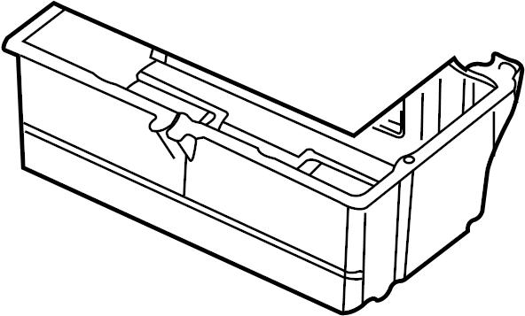 2006 jaguar battery tray  battery tray  box