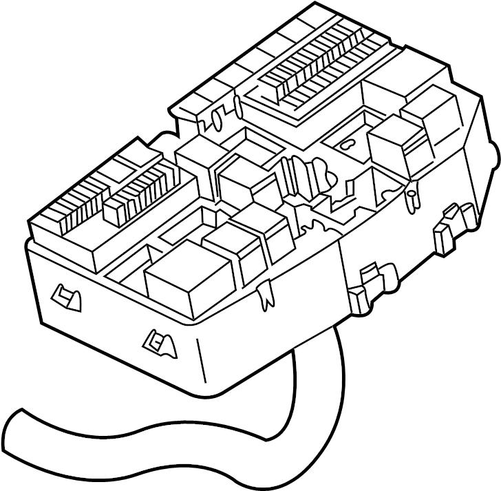 jaguar x-type fuse box main  harness-fusebox