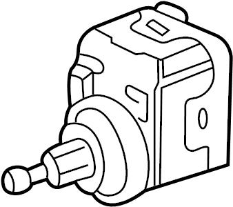 Jaguar x type leveling motor headlamp electrical for Palm beach electric motors