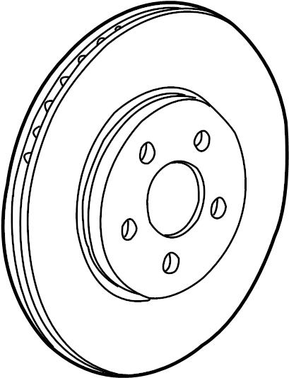 jaguar x-type kit-brake disc  rotor  x-type