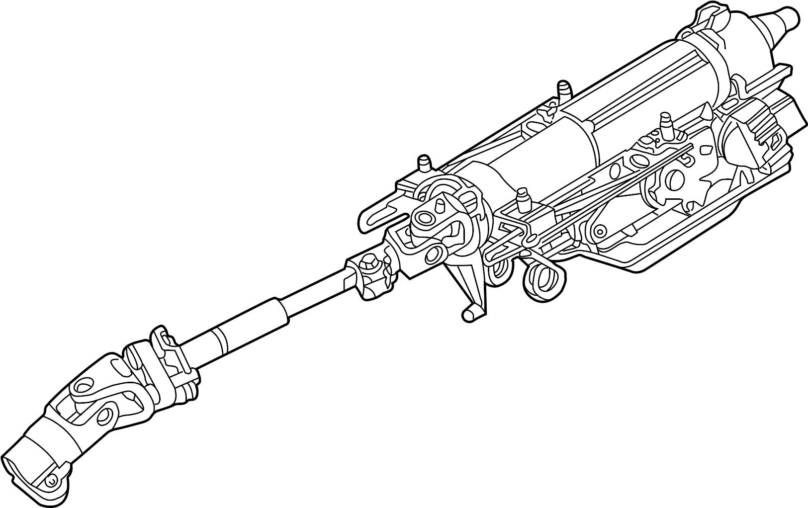 jaguar x-type column  o dyn
