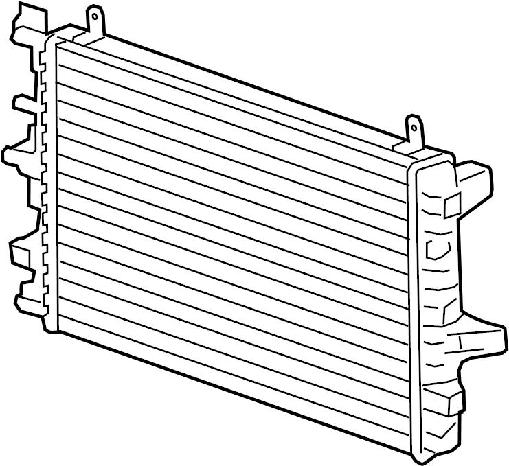jaguar xf cooler  intercooler  radiator  supercharger