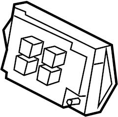 jaguar xkr fuse box central junction front fold mirror. Black Bedroom Furniture Sets. Home Design Ideas