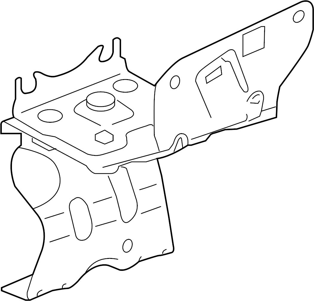 Jaguar xfr s abs modulator bracket modulator mount for Palm beach electric motors