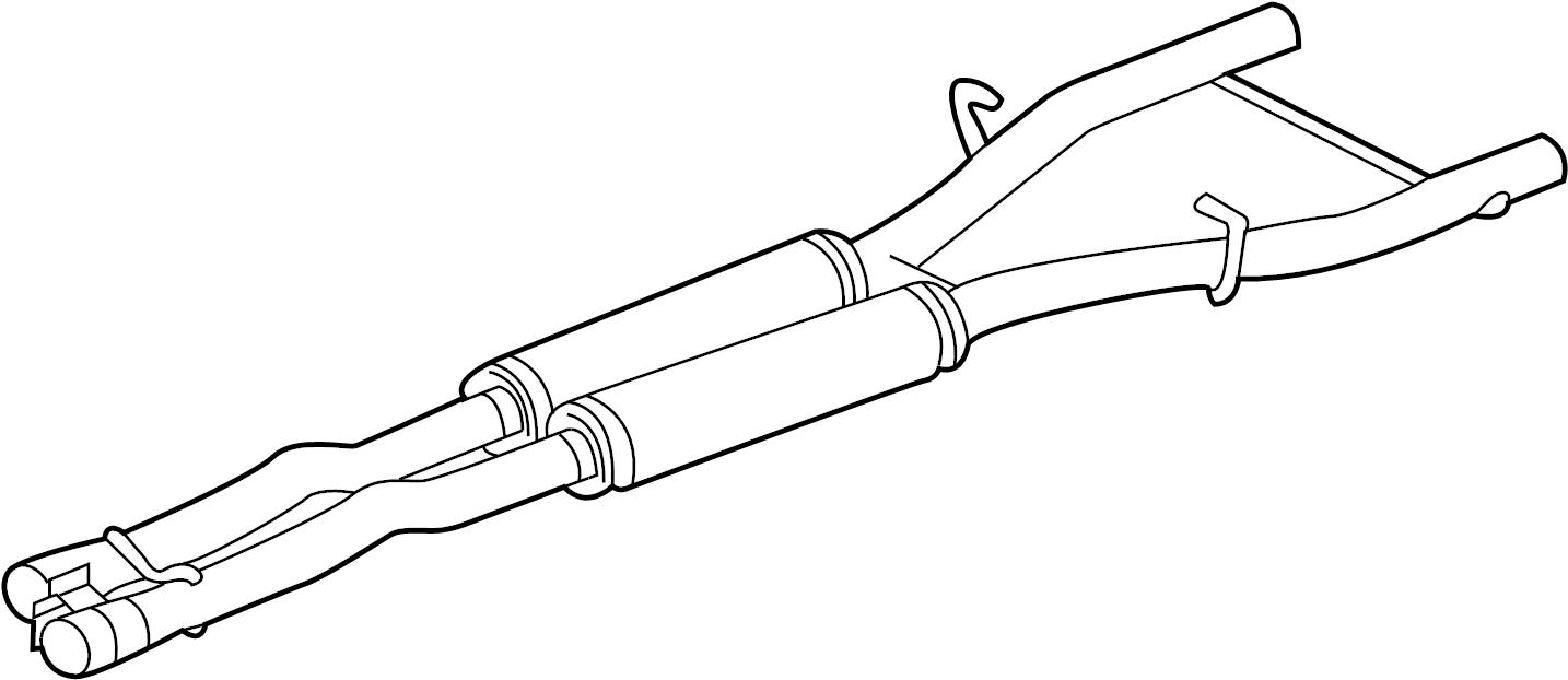 jaguar xfr intermed pipe  intermediate pipe  pipe