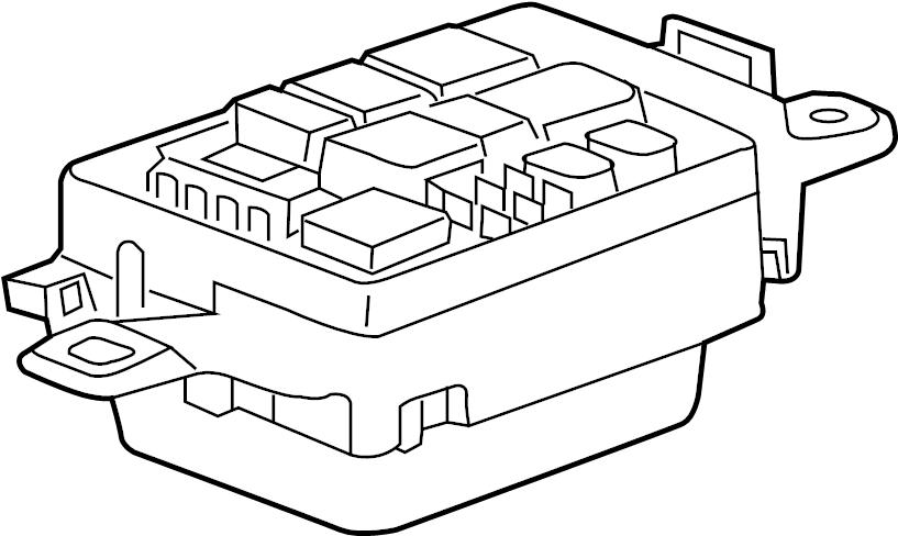 jaguar xe fuse box  junction block  panel  engine bay