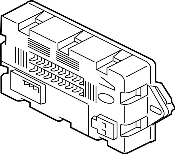 jaguar f-pace fuse box  fusebox  junction block