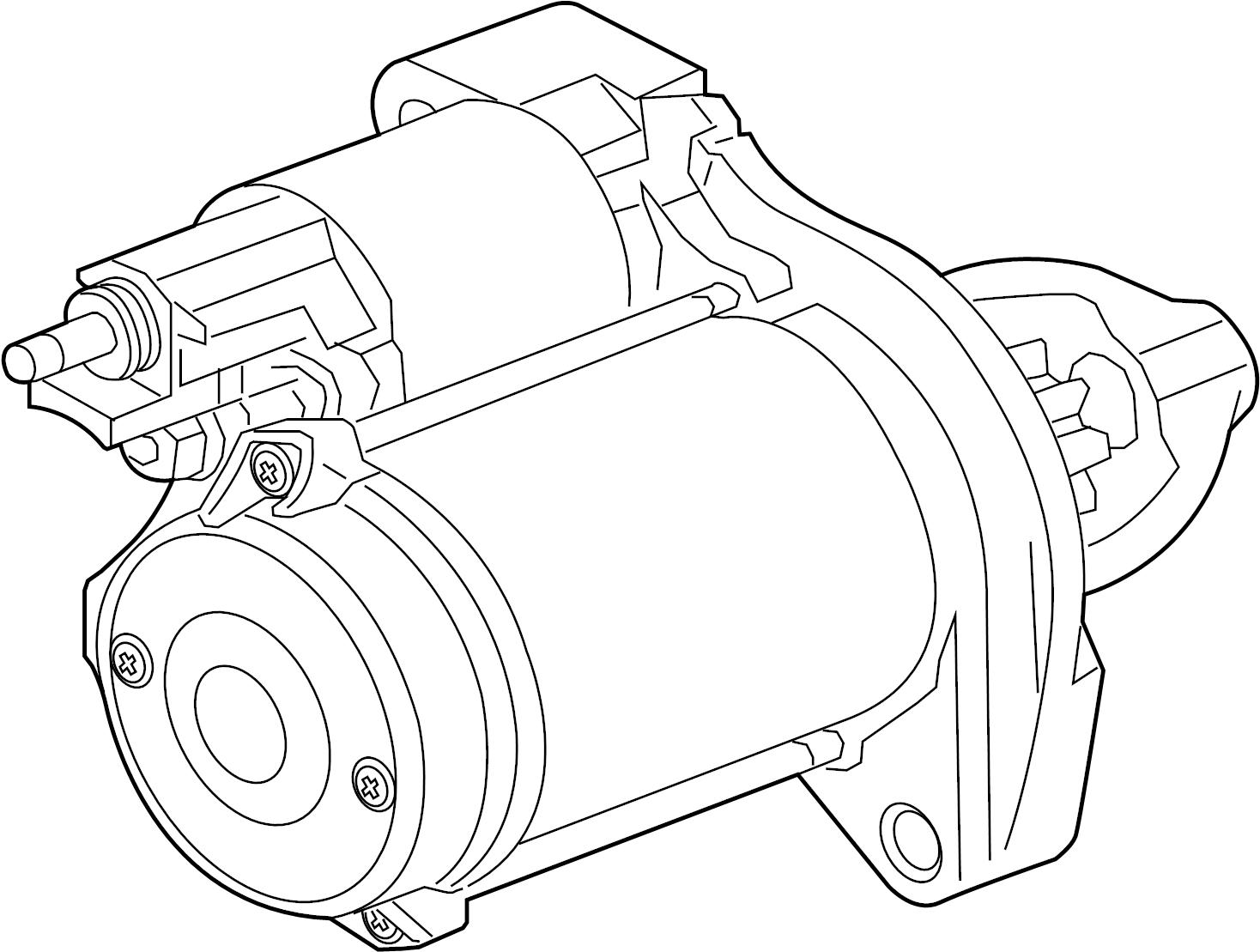 Jaguar f pace starter starter motor fm vin k22185 for Palm beach electric motors