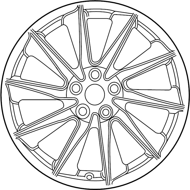 jaguar xf wheel - road