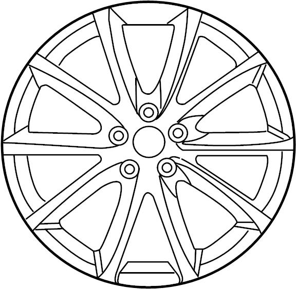 Alloy. Wheel, Alloy. 19
