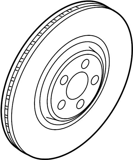 jaguar f-type disc brake rotor  brakes  suspension  front