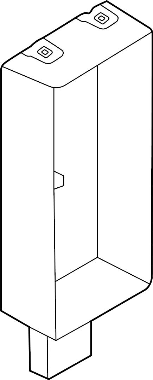 jaguar xf bracket box fuse relay control upper. Black Bedroom Furniture Sets. Home Design Ideas
