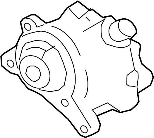 Jaguar XE Power Brake Booster Vacuum Pump. GAS, LITER