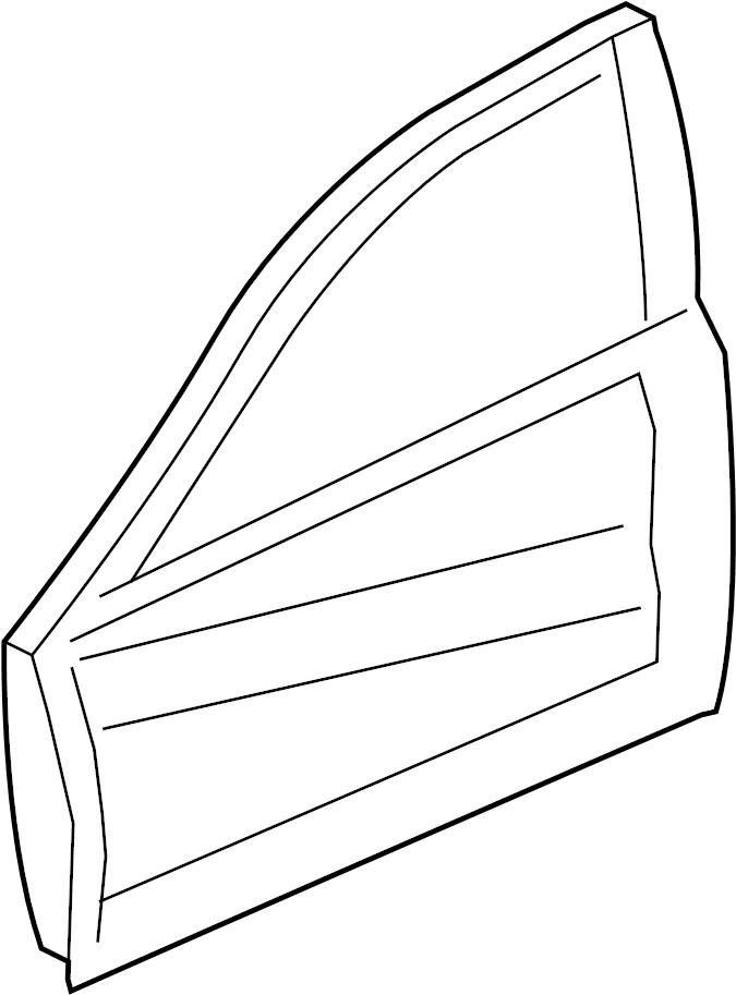 Jaguar Xe Door Shell  Door Shell  Outer Panel  Panel - Door