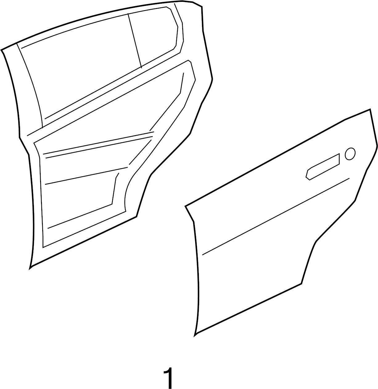 jaguar xe door interior trim panel  door trim panel