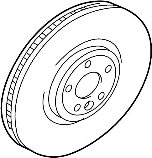 jaguar xf rotor  brake  disc  mount  axle  caliper bolt  a
