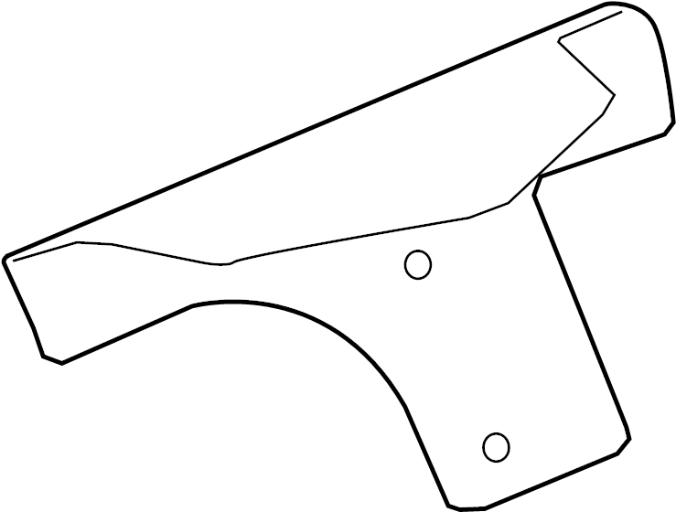 Jaguar Xf Heatshield Starter Heat Shield 3 0 Liter 3 0