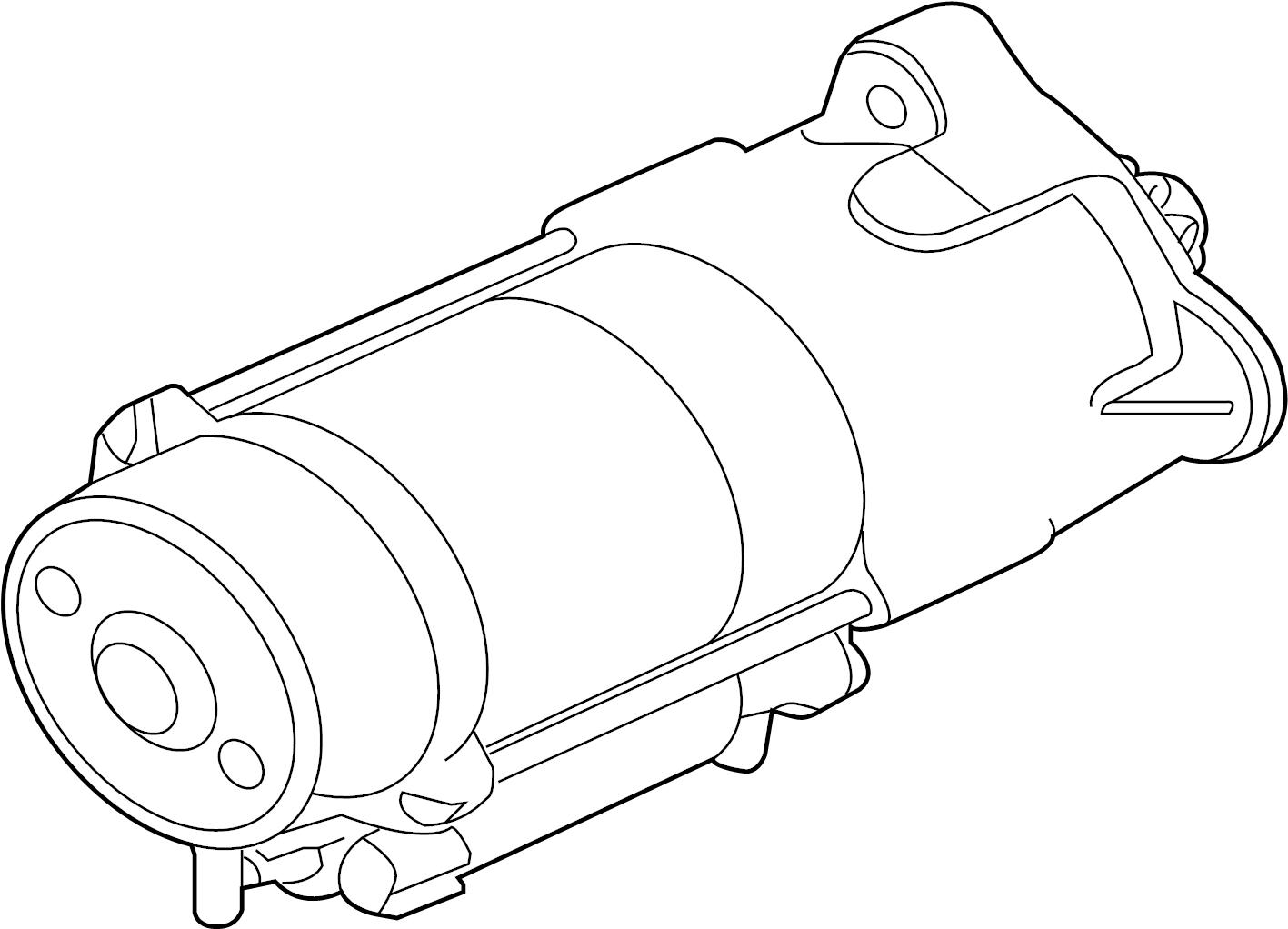 Jaguar f pace starter starter motor electrical t2h1941 for Palm beach electric motors