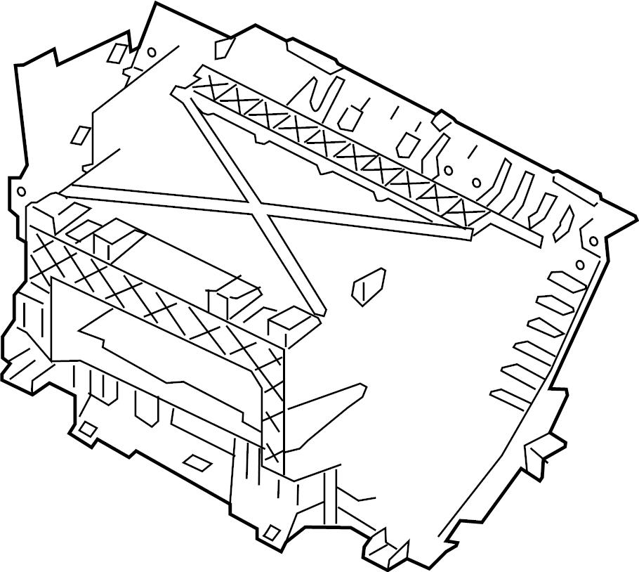 jaguar xf box glove storage compartment frame housing. Black Bedroom Furniture Sets. Home Design Ideas